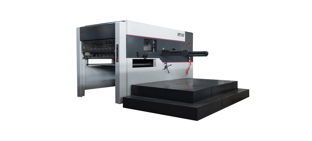 BMY1650 Semi Automatic Die Cutting and Creasing Machine